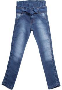 Calça Jeans Infantil Oznes Azul - 4