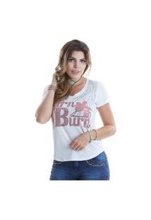 T-Shirt West Dust Asa Off-White