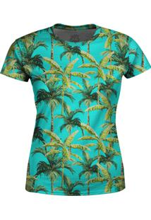 Camiseta Estampada Baby Look Over Fame Verde - Verde - Feminino - Poliã©Ster - Dafiti