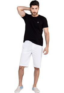 Bermuda Latifundio Classic - Branco - Branco - Masculino - Dafiti