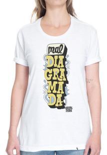 Mal Diagramada - Camiseta Basicona Unissex