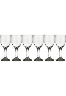 Conjunto De 6 Taças De Água Windsor Transparente