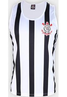 Regata Corinthians Stripes Masculina - Masculino