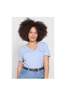 Camiseta Calvin Klein Jeans Logo Azul