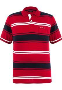 Polo Plus Size Vermelha Presence
