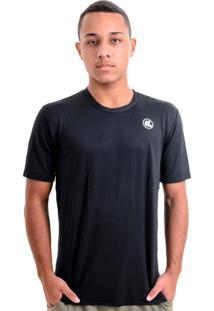 Camisa Esporte Legal Solutio Tamanho Especial Masculina Preta