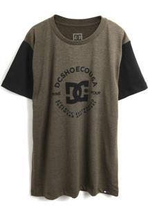 Camiseta Dc Shoes Menino Estampa Verde