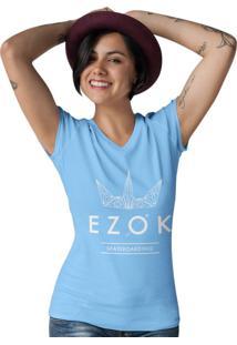 Camiseta Ezok Gola V Urban Azul Claro