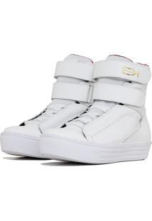 Tãªnis Sneaker K3 Fitness Fit Branco - Branco - Feminino - Dafiti