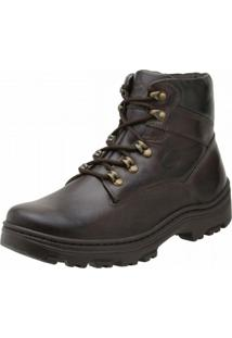 Bota Stevan Boots Adventure Pespontos Marrom
