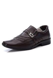 Sapato Social Masculino Moderno Conforto Ranster - 006 Marrom