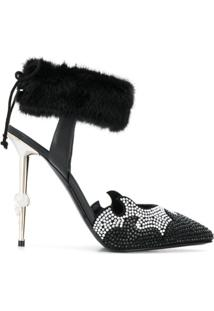 Philipp Plein Scarpin Decollete Luxury - Preto