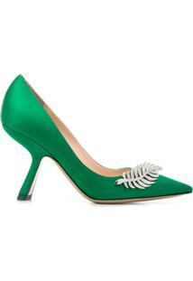 Nicholas Kirkwood Sapato Monstera - Verde