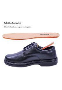 Sapato Social Masculino Em Couro Pipper 6004 Preto - 605