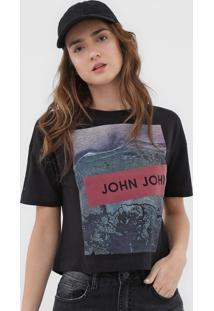 Camiseta John John High Preta - Kanui