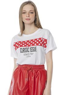 Camiseta T-Shirt Classic Issue Pop Me Branco