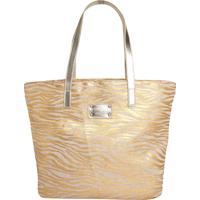 643d07a7d Bolsa Colcci Dourada feminina   Shoes4you