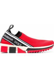 Dolce & Gabbana Tênis 'Sorrento' - Vermelho