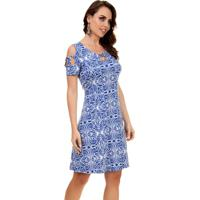 c7cd3581c Vestido Pau A Pique - Feminino-Azul