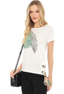 Camiseta Lez A Lez Icacos Branca