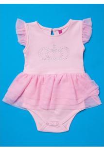 Body Infantil Puket Babado - Feminino