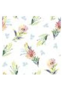 Papel De Parede Autocolante Rolo 0,58 X 3M - Flores 289063127