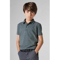 Camisa Polo Infantil Peitilho Slim Reserva Mini Masculina - Masculino-Musgo 8004bcbb70140
