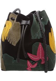 Mini Bucket Tropical Black   Schutz