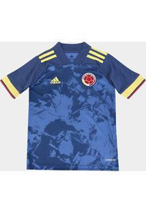 Camisa Seleção Colômbia Infantil Away 20/21 S/N° Adidas - Masculino