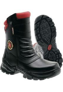 Bota Couro Spectrun Boots Resistente Masculina - Masculino