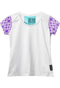 Camiseta Baby Look Feminina Algodão Estampa Manga Curta Leve - Feminino