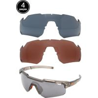 Dafiti. Kit 4 Pçs Óculos De Sol Hb Shield Preto 73fe91527e