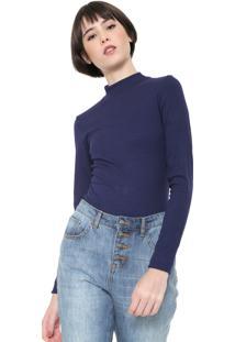 Camiseta Coca-Cola Jeans Canelada Azul-Marinho