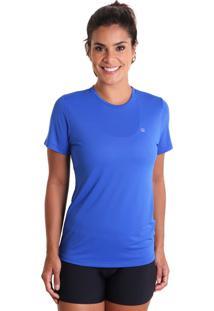 Camiseta Cores Azul Bic Liquido