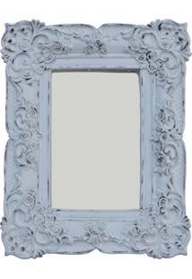 Espelho Casa Da Mãe Joana Capri Branco