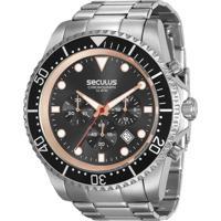 b3247343c37 E Clock. Relógio Seculus Masculino Chronograph 13024G0Svna1