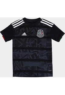 Camisa Seleção México Infantil Home 19/20 S/N° Torcedor Adidas - Masculino