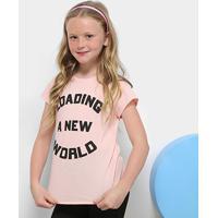 b6d7efb112 Camiseta Infantil Dimy Candy Estampada Feminina - Feminino