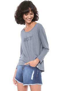 Camiseta Roxy Speel Cinza