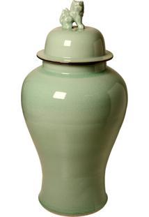 Vaso Decorativo De Porcelana Fiume