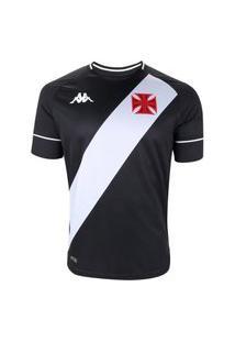 Camisa Vasco 2020/21 Oficial Kappa I Torcedor Sem Numero Masculina