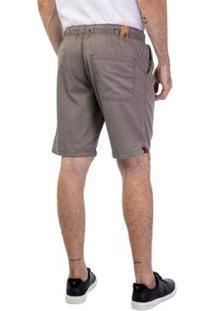 Bermuda Jogger Color Masculina - Masculino-Cinza