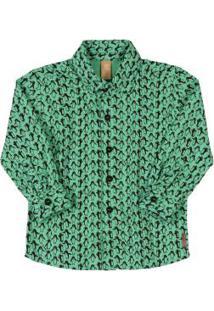 Camisa Pinguim Verde