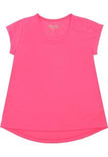 Camiseta Gumii Lisa Rosa