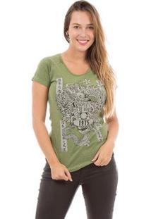 Camiseta Aes 1975 Dragon Ii Feminina - Feminino