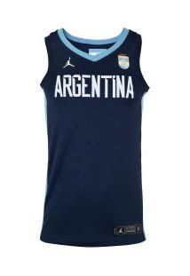 Camisa Regata Nike Argentina Jsy Limited - Masculina - Azul Escuro