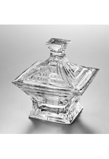 Bomboniere De Vidro Sodo-Cálcico Com Titanio Cascade 21Cm - Unissex