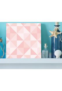 Quadro - Quartz Rose Triangles
