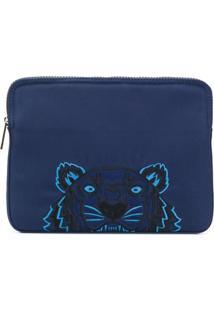 Kenzo Bolsa Para Laptop 'Tiger' - Azul