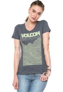 ad73193b4 Camisetas Esportivas Estampada Volcom